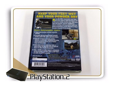 Socom Us Navy Seals Original Playstation 2 PS2 Lacrado Novo - comprar online