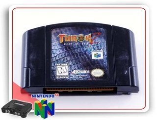 Turok 2 Seeds Of Evil Original N64 Nintendo 64