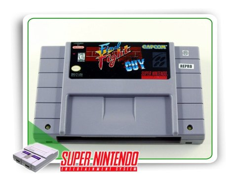 Final Fight Guy Original Super Nintendo Snes - Repro