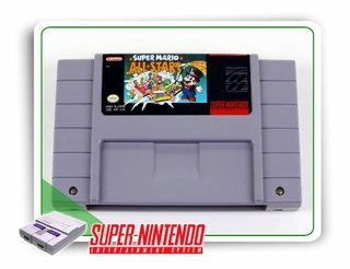 Super Mario All-stars Original Super Nintendo Snes