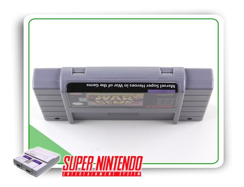 Marvel Super Heroes War Of The Gems Super Nintendo - Novo - comprar online