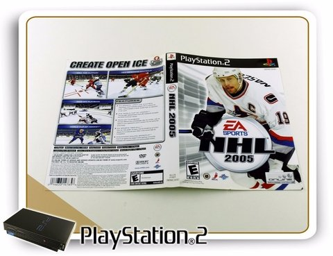 Encarte Nhl 2005 Original Playstation 2 PS2