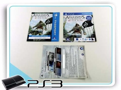 Assassins Creed 4 Black Flag Original Playstation 3 PS3 - comprar online