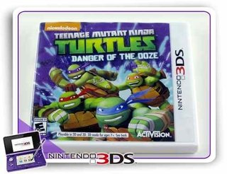 Teenage Mutant Ninja Turtles Original Nintendo 3ds