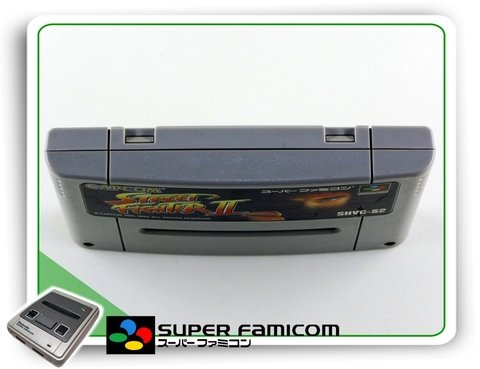 Street Fighter 2 Original Sfc Super Famicom na internet