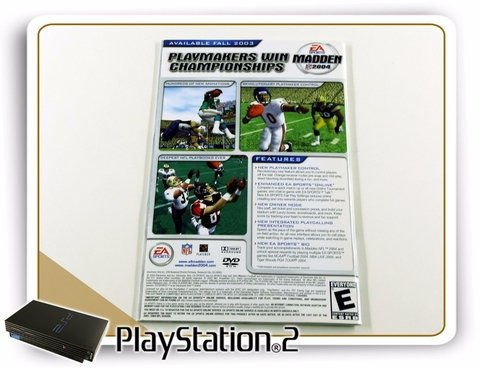 Manual Ncaa Football 2004 Original Playstation 2 PS2 - comprar online