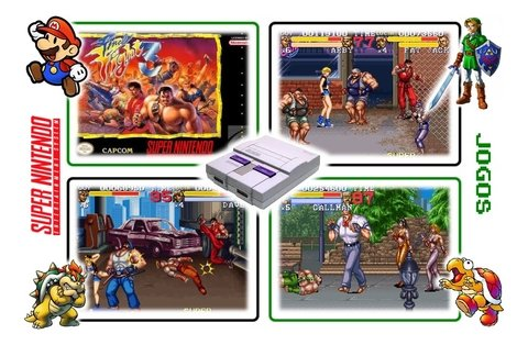 Imagem do Final Fight 3 Super Nintendo Snes - Novo