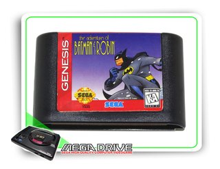 The Adventures Of Batman & Robin Original Sega Mega Drive