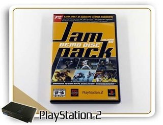 Jampack Demo Disc Volume 10 Original Playstation 2 Ps2