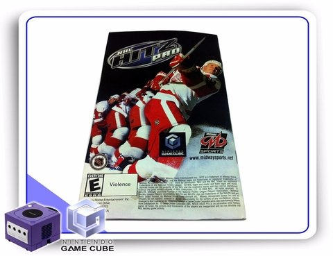 Gc Manual Nfl Blitz Pro Original Gamecube - comprar online