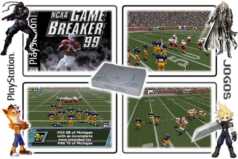 Ncaa Gamebreaker 99 Original Playstation 1 Ps1 - Radugui Store