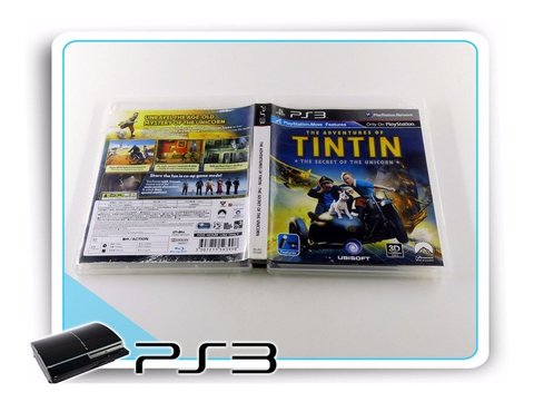 Ps3 The Adventures Of Tintin Original Playstation 3 na internet