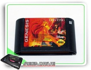 The Lion King Original Sega Mega Drive - Genesis