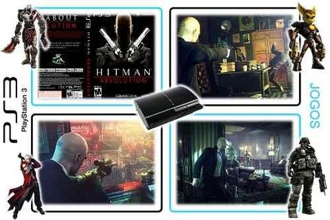 Hitman Absolution Original Playstation 3 PS3 - Radugui Store