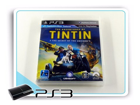 Ps3 The Adventures Of Tintin Original Playstation 3