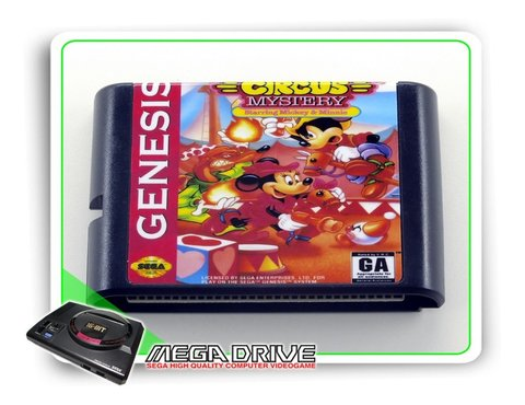 The Great Circus Mystery Sega Mega Drive / Genesis - Novo