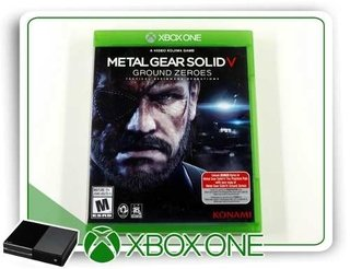 Metal Gear Solid 5 Ground Zero Origin. Xbox One Mídia Física