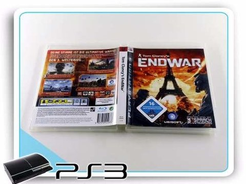 Tom Clancys Endwar Original Playstation 3 PS3 na internet