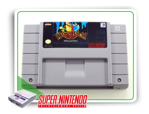 Were Back A Dinosaur Story Original Snes Super Nintendo