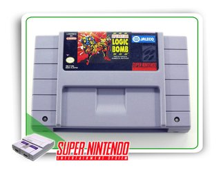 Operation Logic Bomb Original Super Nintendo Snes