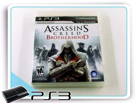 Assassins Creed Brotherhood Original Playstation 3 PS3