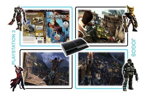 Uncharted 2 Among Thieves Original Playstation 3 Ps3 - Radugui Store