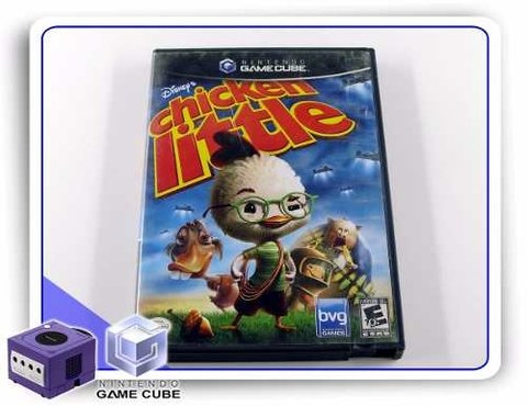 Chicken Little Original Gamecube Gc