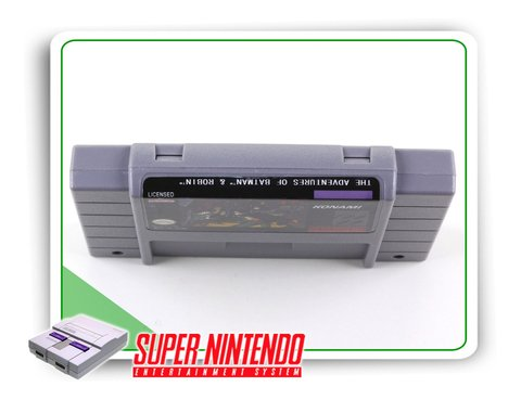 The Adventures Of Batman & Robin Super Nintendo Snes - Novo - comprar online
