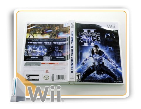Star Wars The Force Unleashed 2 Original Nintendo Wii na internet