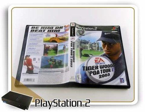 Tiger Woods Pga Tour 2003 Original Playstation 2 PS2 - comprar online