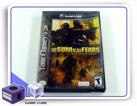 Tom Clancys The Sum Of All Fears Original Gamecube