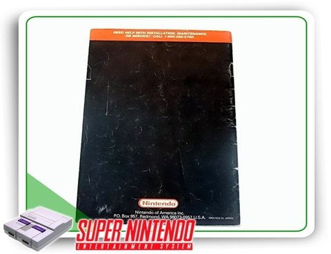 Manual Kirbys Avalanche Original Snes Super Nintendo - comprar online