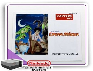 Manual Little Nemo The Dream Master Original Nintendinho