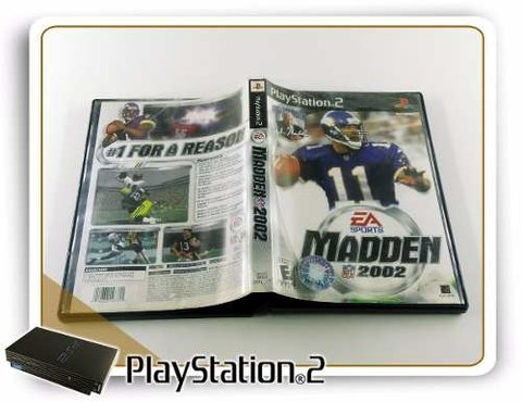Madden Nfl 2002 Original Playstation 2 PS2 na internet