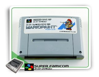 Mario Paint Original Super Famicom Sfc