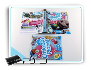 Encarte E Manual Little Big Planet Origin. Playstation 3 Ps3