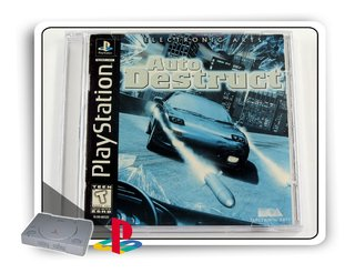 Auto Destruct Original Playstation 1 Ps1