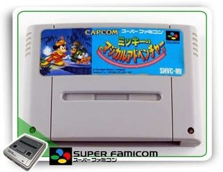 Magical Quest Starring Mickey Mouse Original Super Famicom