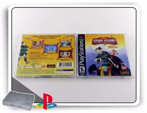 Mulan Original Playstation 1 PS1 - comprar online