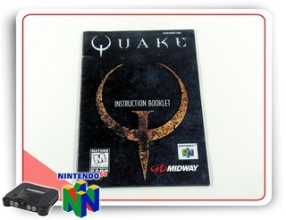 Manual Quake Original Nintendo 64 N64