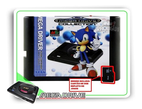 Cartucho Everdrive China Version Para Mega Drive + 8gb