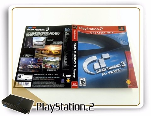 Encarte E Manual Gran Turismo 3 Aspec Original Playstation 2