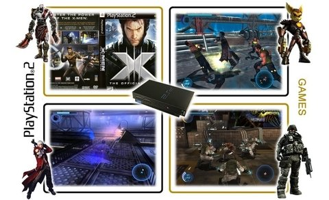 X-men 3 The Official Game Original Playstation 2 Ps2 - comprar online