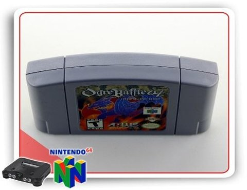 Ogre Battle 64 Nintendo 64 N64 Original na internet