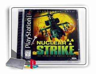 Nuclear Strike Original Playstation 1 Ps1
