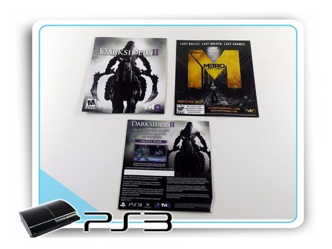 Darksiders 2 Original Playstation 3 PS3 Limited Edition na internet
