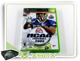 Ncaa Football 2005 Original Xbox Clássico Ntsc