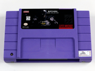Batman Collection- Adventure, Forever, Returns +revenge Snes