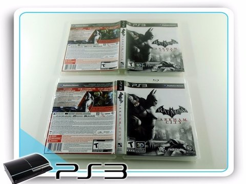 Batman Arkham City Original Playstation 3Ps3 na internet
