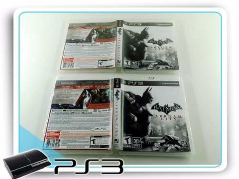 Batman Arkham City Original Playstation 3 PS3 na internet